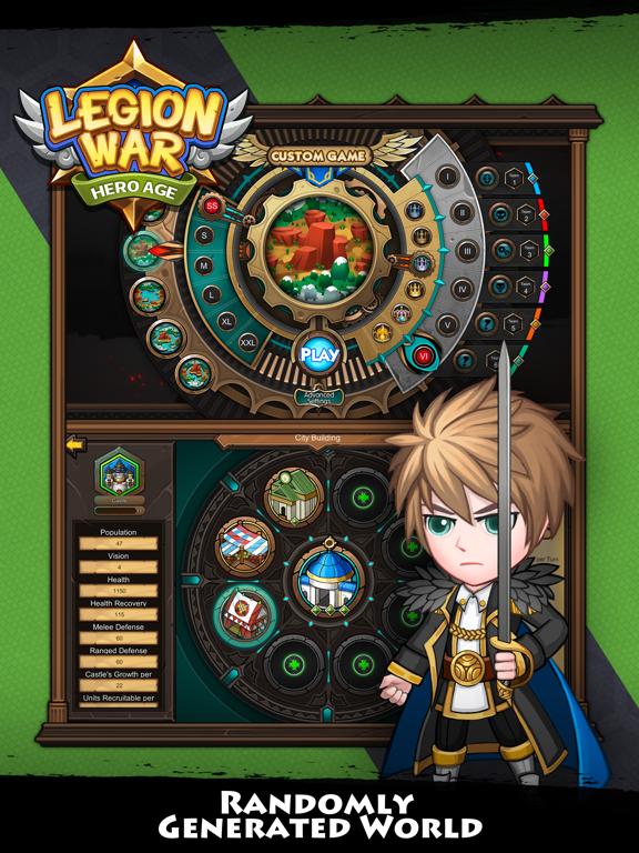 Скачать Legion War - Hero Age