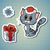 Sticker Me: Christmas Animals