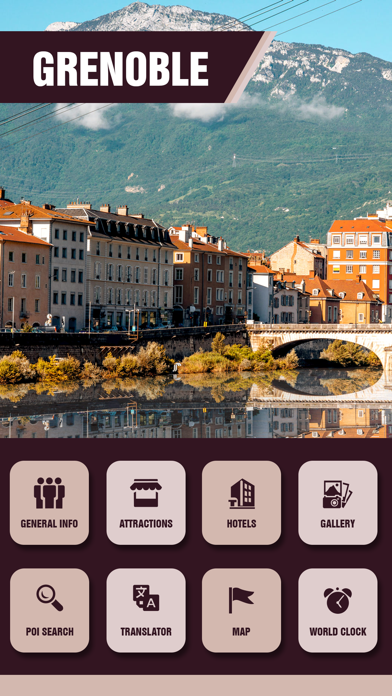 Grenoble Travel Guide screenshot two