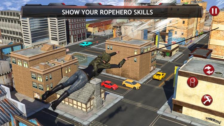 Police Robot Ropehero