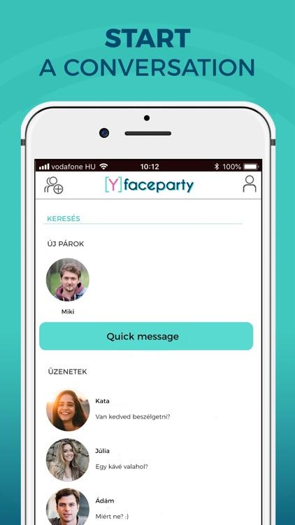 Faceparty - Meet New Friends screenshot-4