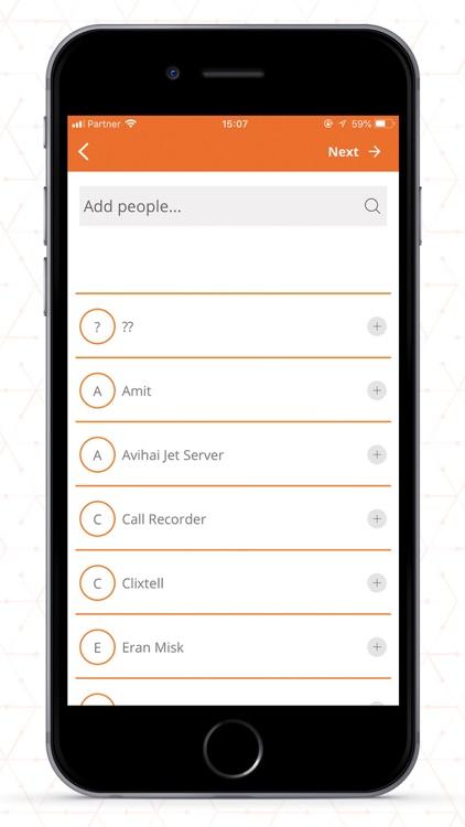 Groupee Messenger screenshot-3