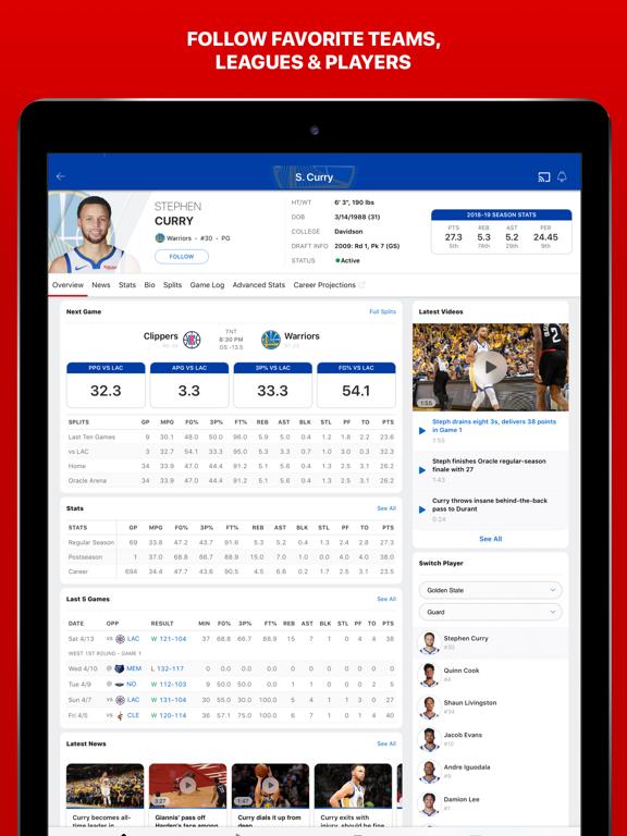 ESPN: Live Sports & Scores by ESPN (iOS, United States
