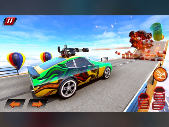 Crazy Shooting Car Stunts Sim screenshot 4