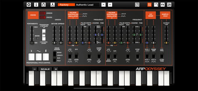 ARP ODYSSEi Screenshot