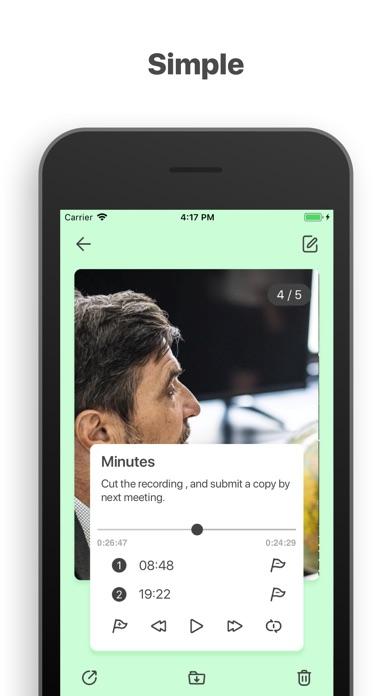 Memos-Voice Screenshots