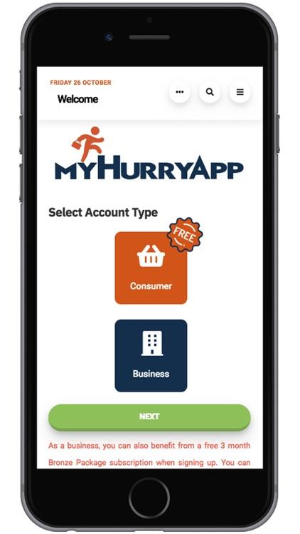 MyHurryApp screenshot-3