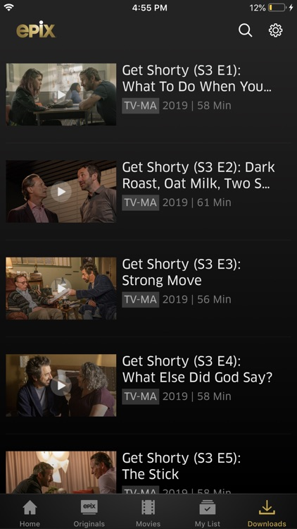 EPIX: Stream with TV Package screenshot-6