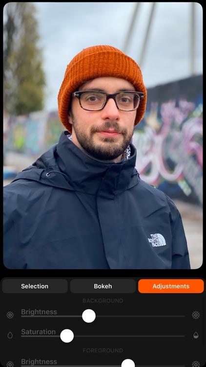 FabFocus - Portrait Mode Blur screenshot-3