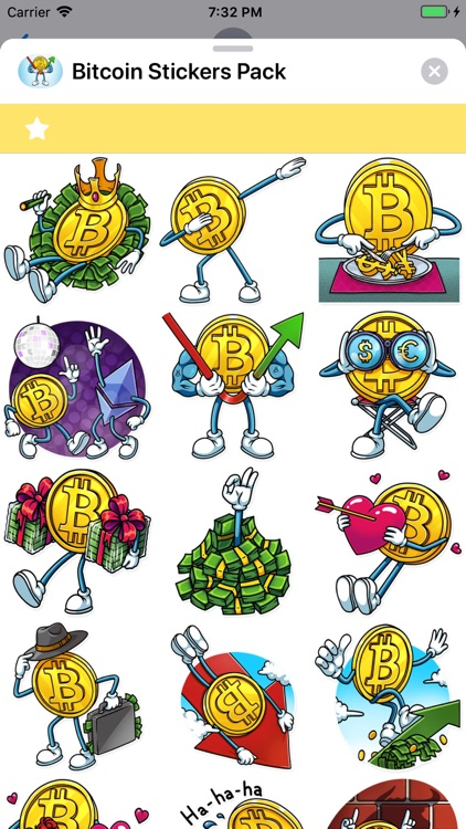 Bitcoin Stickers Pack