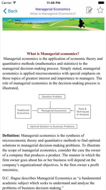 MBA Managerial Economic screenshot-3