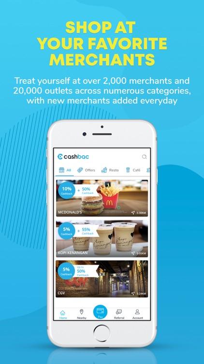 Cashbac - Cashback Rewards App screenshot-3