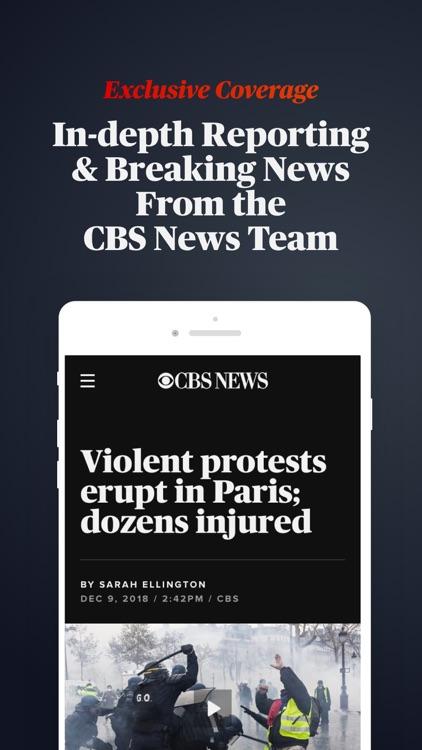 CBS News: Live Breaking News screenshot-4