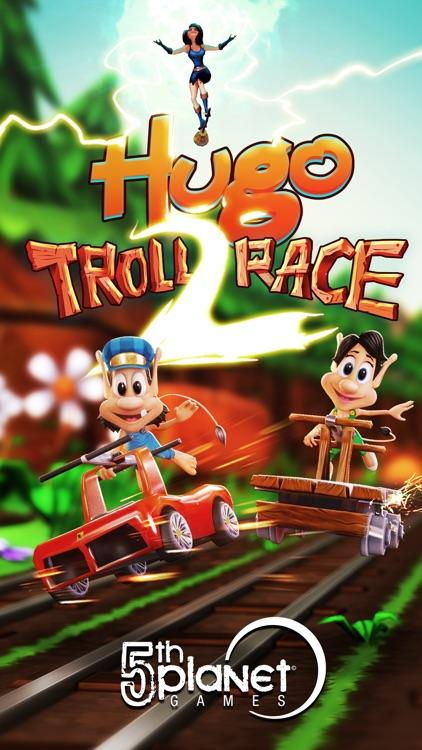 Hugo Troll Race 2: Rail Rush screenshot-0