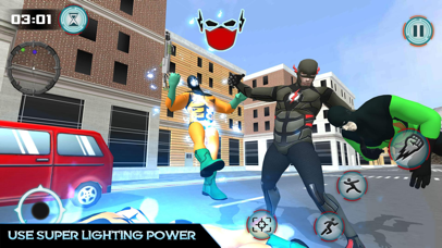 Immortal SuperHero City War screenshot 1