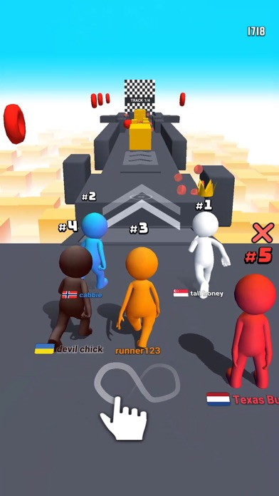 Human Runner 3D Screenshot 1