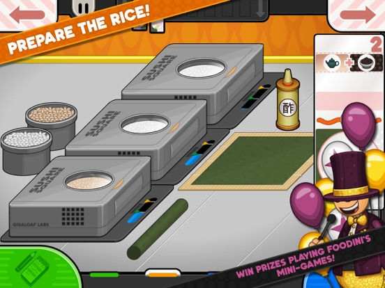 Papa's Sushiria To Go! screenshot 8