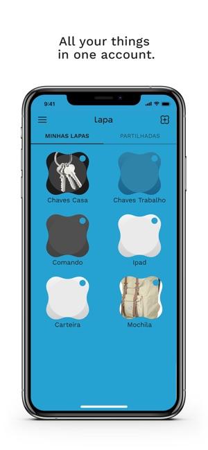 Lapa Bluetooth Tracker Im App Store