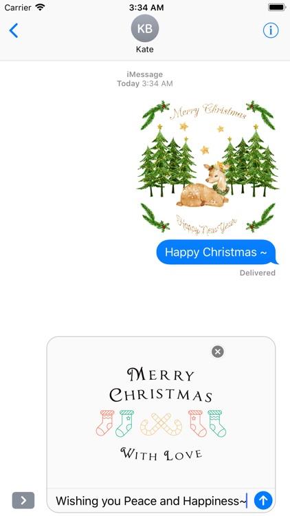 Happy Christmas Set - Animated screenshot-4