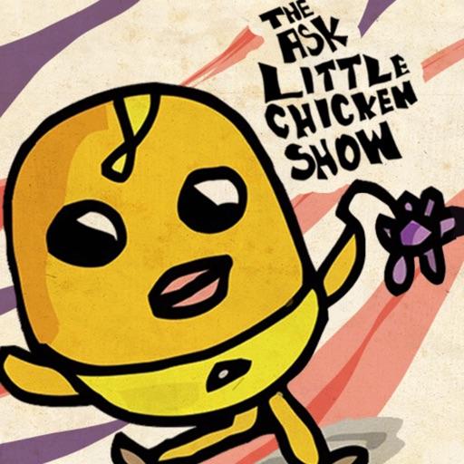 Ask Little Chicken Stickers