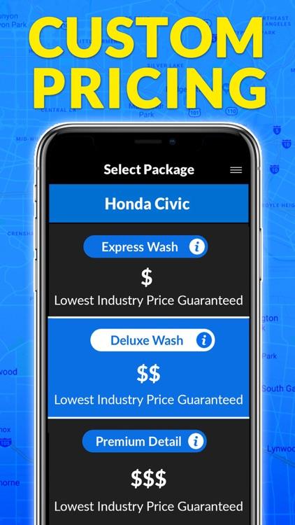 MobileWash Car Wash On-Demand screenshot-4