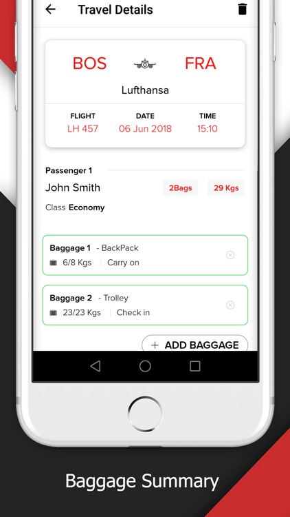 INWEIGH:Airline Baggage Rules! screenshot-4