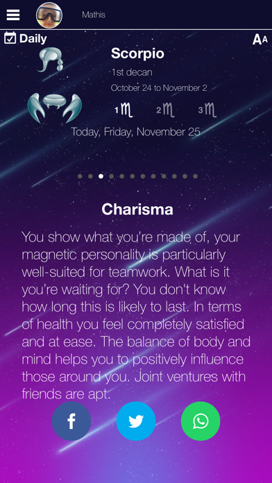 My Daily Horoscope Pro Revenue and Downloads Data | Reflection io