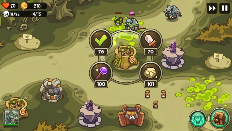 Empire Warriors: Tower Defense screenshot-4