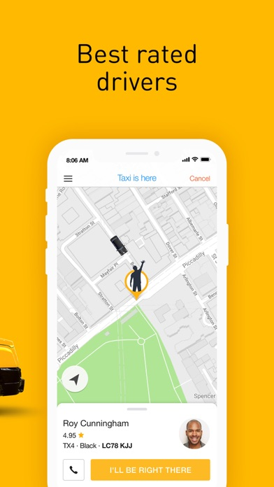 Screenshot for Gett - The Best Black Cabs in Finland App Store