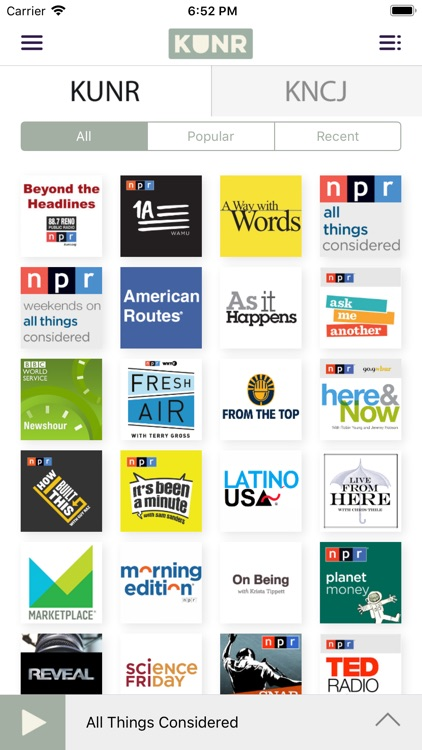 KUNR Public Radio screenshot-3