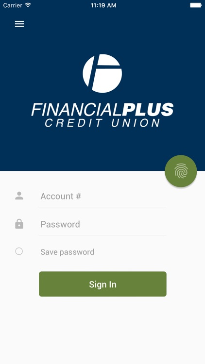 Financial Plus CU Mobile App