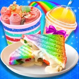 Rainbow Ice Cream sandwich
