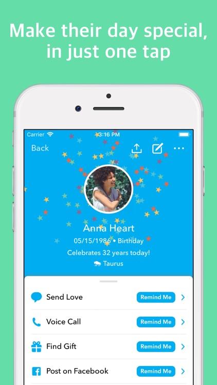 hip: Birthday Reminder App screenshot-4