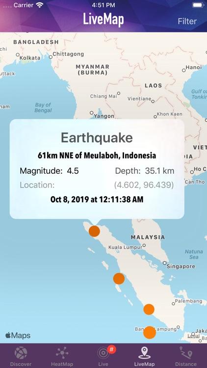DataX Earthquake screenshot-4