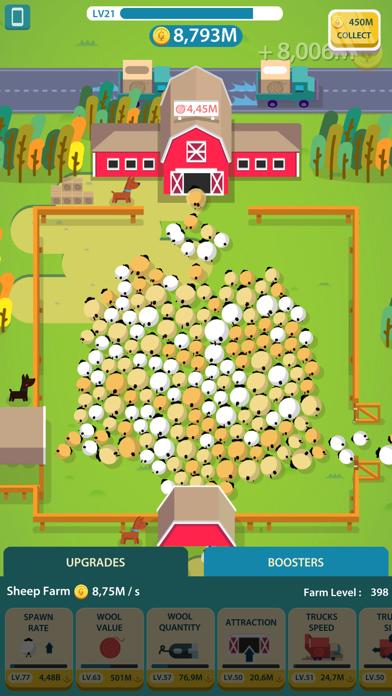 Wool Factory Idle screenshot two