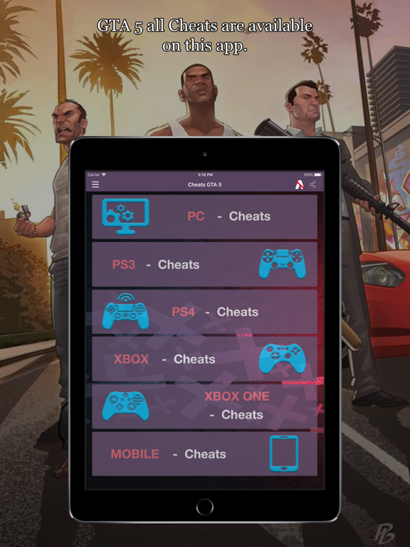 All Cheat Codes For Gta 5 App Price Drops