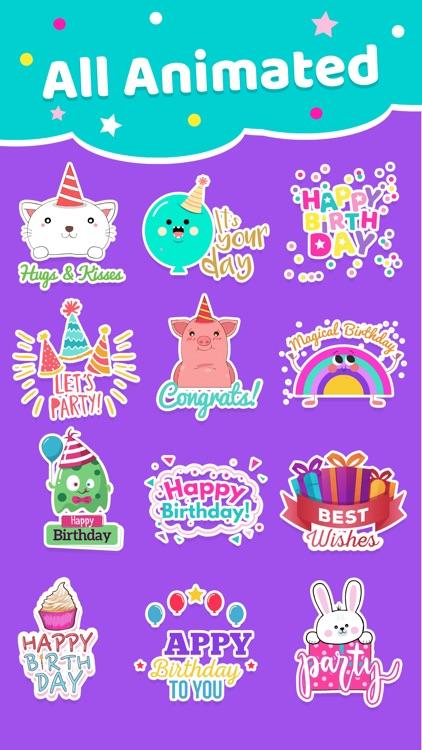 Happy Birthday Animated * screenshot-6