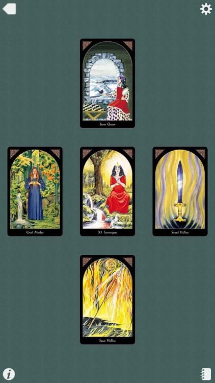 Arthurian Tarot screenshot-4