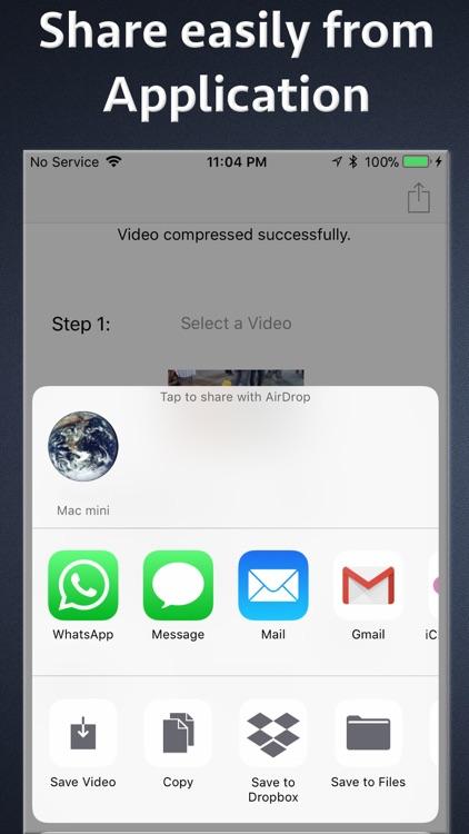 Video Size Compressor screenshot-3