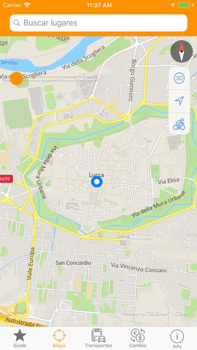 Guía y Mapa de LuccaCaptura de pantalla de4