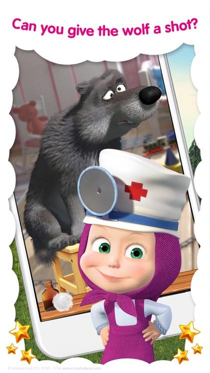 Masha and the Bear: Vet Games