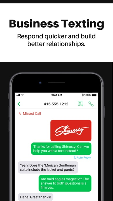 Sideline 2nd Phone Number Screenshot