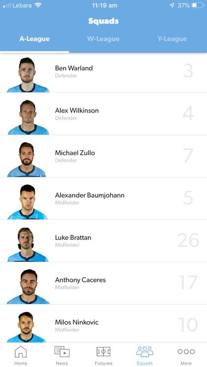 Sydney FC Official App screenshot-3