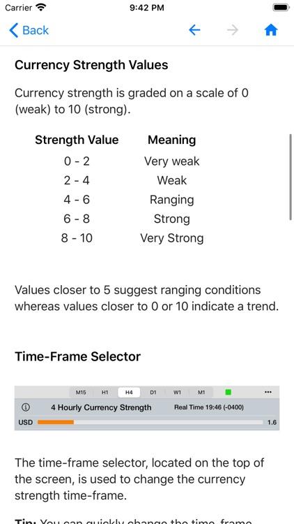 Forex Strength Meter screenshot-8