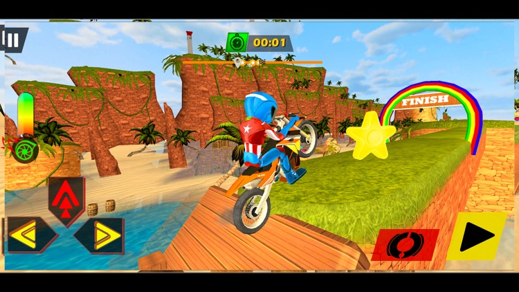 Motocross Mad Bike Stunt Rider
