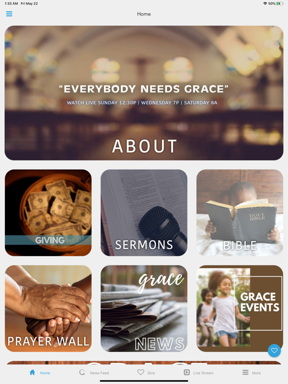 Cathedral of Grace Church App screenshot 5