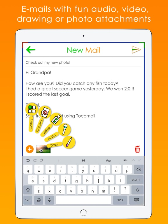 Tocomail - Email for Kidsのおすすめ画像3