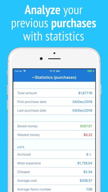 IntelliList - Shopping List screenshot-6