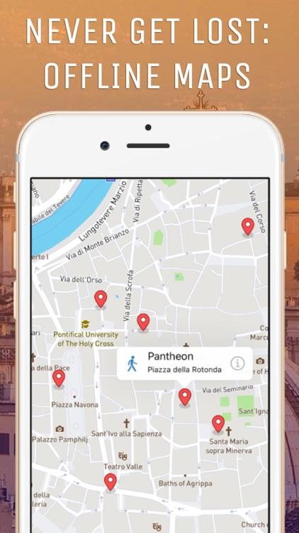 Rome Guide: Tour & Offline Map screenshot-3