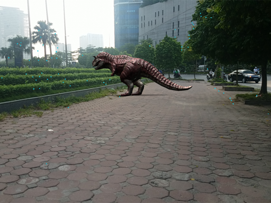 Dinosaur 3D AR screenshot 5